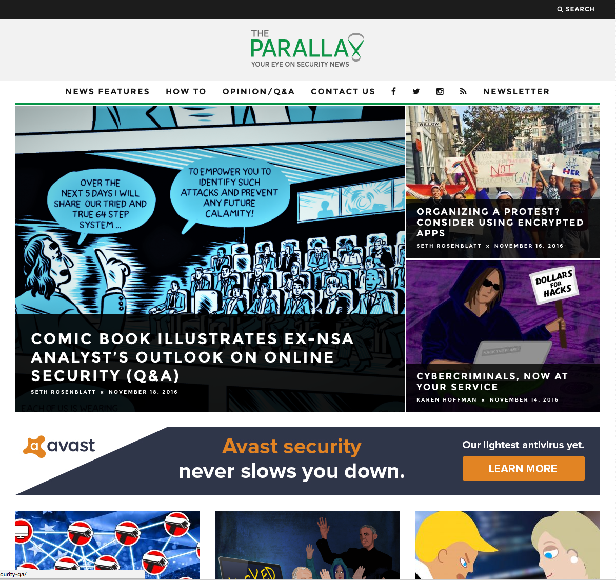 The Parallax: Your Eye on Security News